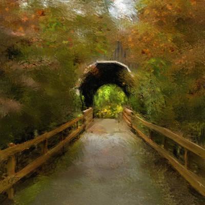 Pass Creek Bridge Print by Dale Stillman