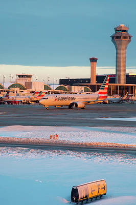 Passenger Airliner Taxiing Print by Jim West