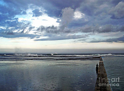 After The Storm Photograph - Passing Of The Storm by Kaye Menner