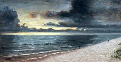 Schmid Painting - Passing Storm by J Kenneth Grody