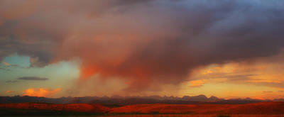 Passing Summer Storm Print by Joel Corley