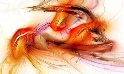 Emotion Mixed Media - Passion by Anastasiya Malakhova