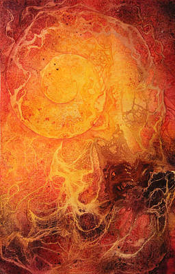 Inktense Painting - Passion Ignited by Ellen Starr
