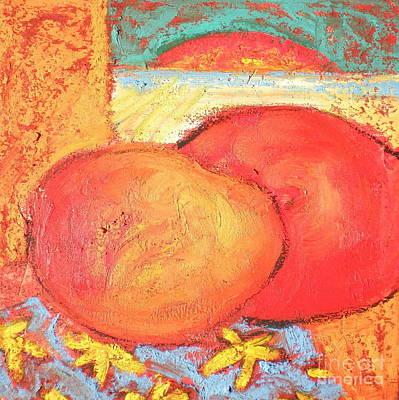 Mango Digital Art - Passion Mangos by Diane STEVENETT