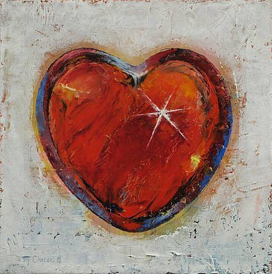 Passion Print by Michael Creese