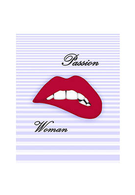 Passion Woman For Cell Original by Aaron Selmi