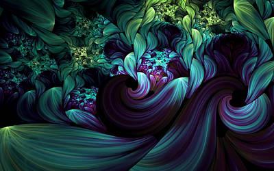 Passionate Mindfulness Print by Georgiana Romanovna