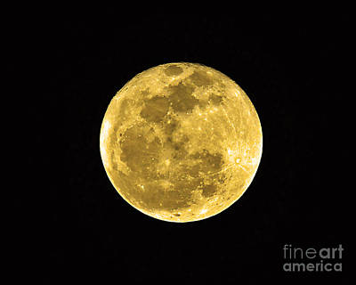 Passover Full Moon Print by Al Powell Photography USA