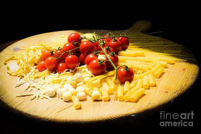 Pasta Preparation Original by Eduardo Rubin