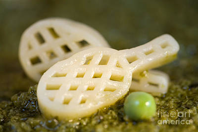 Pasta Tennis Rackets Print by Iris Richardson