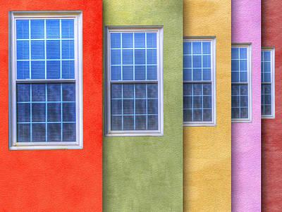 Pastel Print by Paul Wear