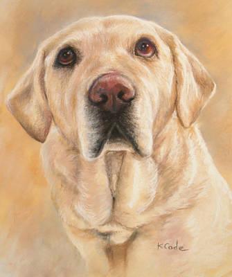 Portrait Pastel - Pastel Portrait by Karen Cade