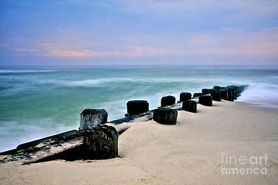 New Jersey Photograph - Pastel Waters by Mark Miller