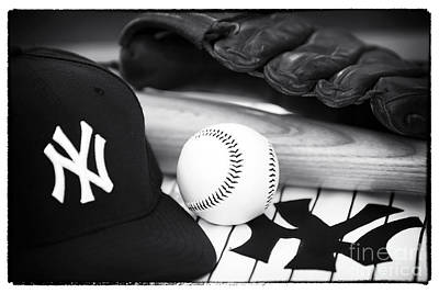 Ny Yankees Photograph - Pastime Essentials by John Rizzuto