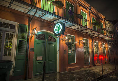 Pat Obriens New Orleans Print by David Morefield