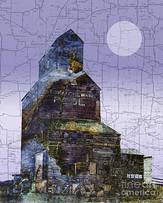Judy Wood Digital Art - Patchwork Elevator by Judy Wood