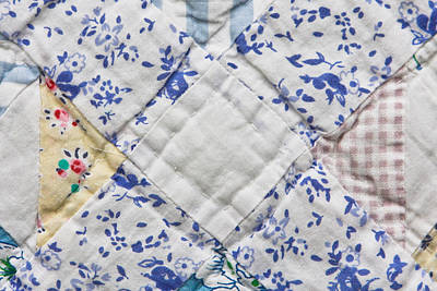 Quilts Photograph - Patchwork Quilt by Tom Gowanlock