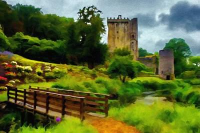 Pathway Digital Art - Path To Blarney Castle by Jeff Kolker