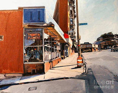 Southie Painting - Path To Forgiveness by Deb Putnam