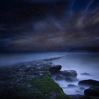 Path To Infinity Print by Jorge Maia