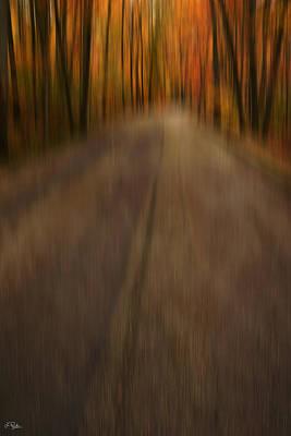 Fall Foliage Photograph - Path To Life by Lourry Legarde