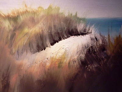 Sand Dunes Painting - Path To The Sea by Joseph Gallant