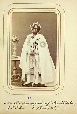 Patiala: Mahendra Singh Print by British Library