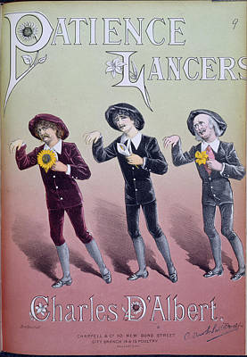 Lancer Photograph - Patience Lancers by British Library