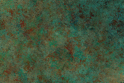 Abstract Digital Art - Patina by Jeff Montgomery
