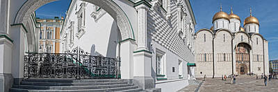 Moscow Photograph - Patriarch Palace And Church Of The by Panoramic Images