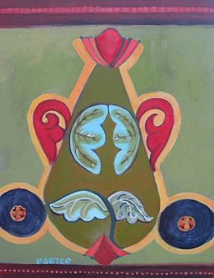 Painting - Patternalia Rgb by Sally Porter