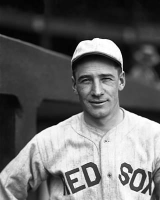 Red Sox Photograph - Paul N. Zahniser by Retro Images Archive