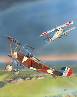Paul Pavelka's Nieuport 16 Original by Robert Karr