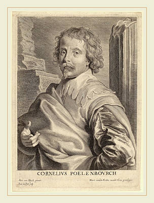 Paulus Pontius After Sir Anthony Van Dyck Flemish Print by Litz Collection