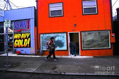 Photograph - Pdx Street  by Carl Warren