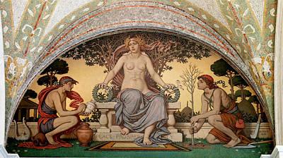 Prosperity Painting - Peace And Prosperity by Elihu Vedder