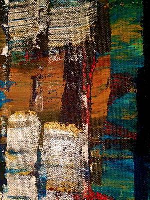 Forgiveness Painting - Peace Feathers by Trisha Lotzer