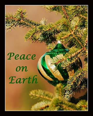 Peace On Earth Print by Francie Davis
