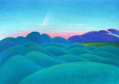 Peace On Earth Print by Judith Chantler