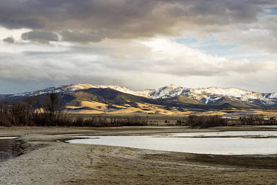 Peaceful Day In Helena Montana Print by Dana Moyer