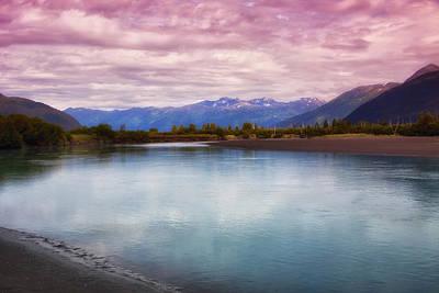 Peaceful In Alaska Print by Kim Hojnacki