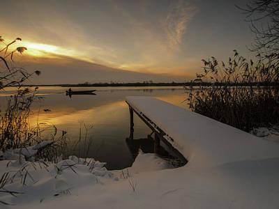 Fishermen Photograph - Peaceful Morning  by Davorin Mance