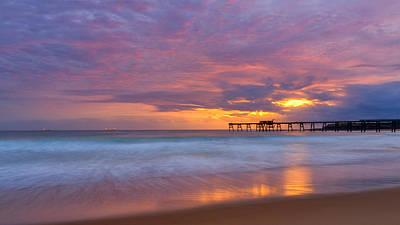 Zen Photograph - Peaceful Sunrise by Tim Brown
