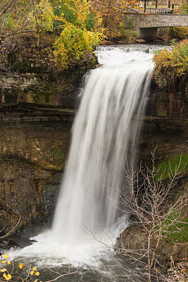Nature Photograph - Peaceful Waterfall by AMB Fine Art Photography