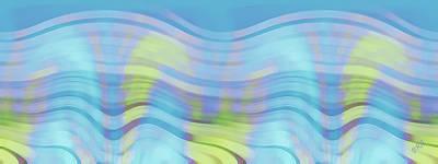 Ben Gertsberg Digital Art - Peaceful Waves by Ben and Raisa Gertsberg