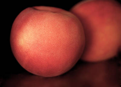 Fruits Photograph - Peach by Rona Black
