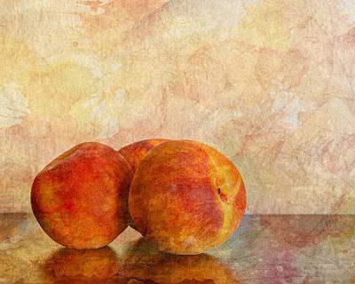 Trio Photograph - Peach Trio II by Heidi Smith