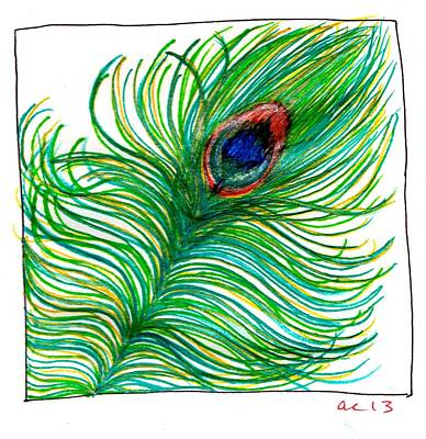 Peacock  Original by Andrea Cook