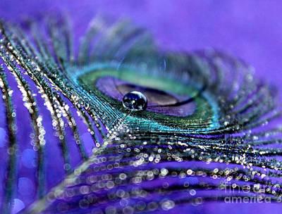 Peacock Photograph - Peacock Spirit by Krissy Katsimbras