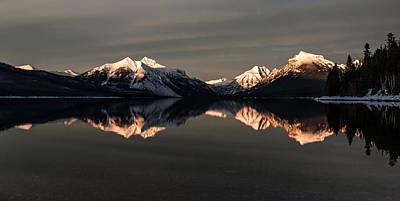 Montana Photograph - Peaks by Aaron Aldrich